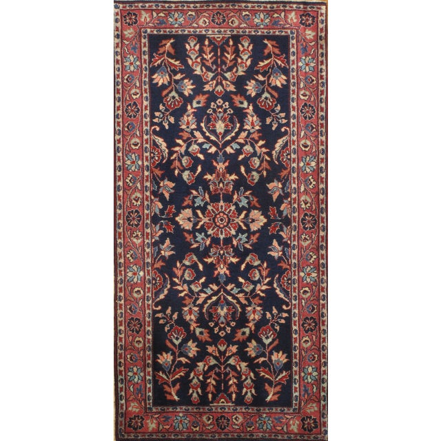 """Pasargad Hand-Knotted Red Saruk Rug - 2'3"""" X 4'6"""" - Image 1 of 2"""