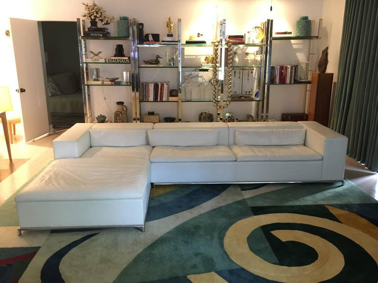 ds7 for de sede modular white leather sectional by antonella scarpitta image 6