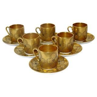 Arabia Gilda Coffee Cups - Set of 6