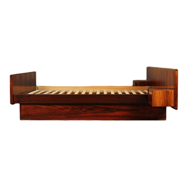 Image of Sannemann Danish Rosewood Platform Bed