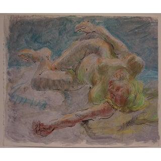 Female Nude in the Studio by Lois Davis