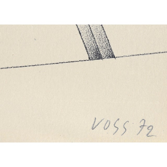 Image of Jan Voss Serigraph -Hommage a Picasso