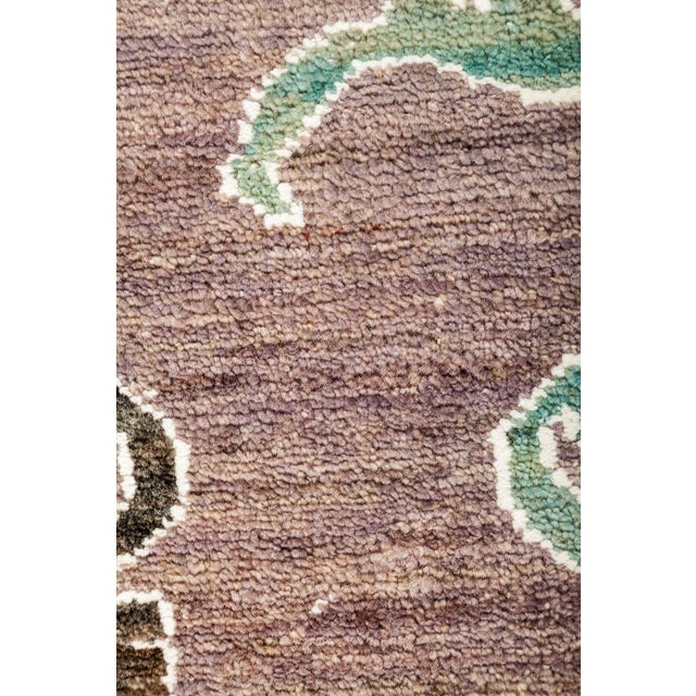 """New Hand Knotted Area Rug - 8'2"""" x 9'8"""" - Image 3 of 3"""
