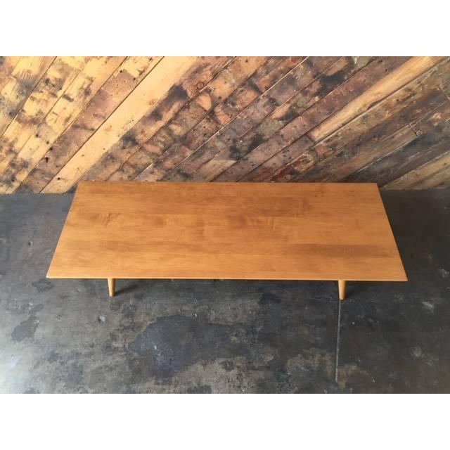 Mid Century Paul McCobb Maple Coffee Table - Image 5 of 5