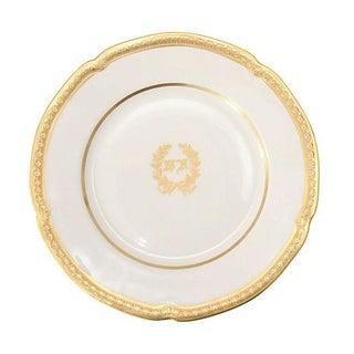 Lamberton 'Waldorf Astoria' Gilted Plate