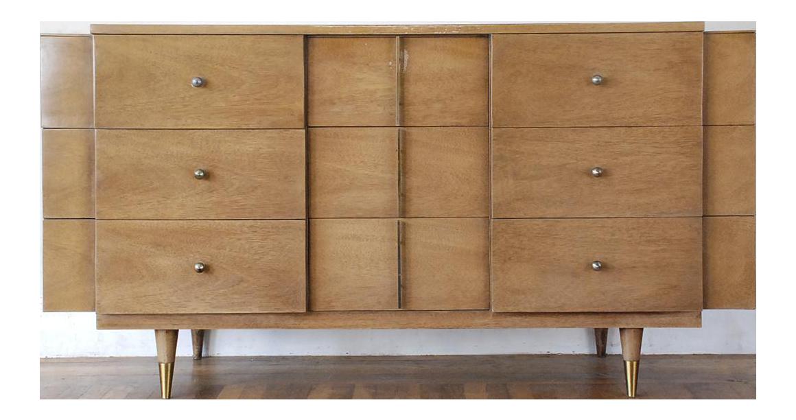 Amazing Kent Coffey Mid Century Modern Futura Triple Dresser