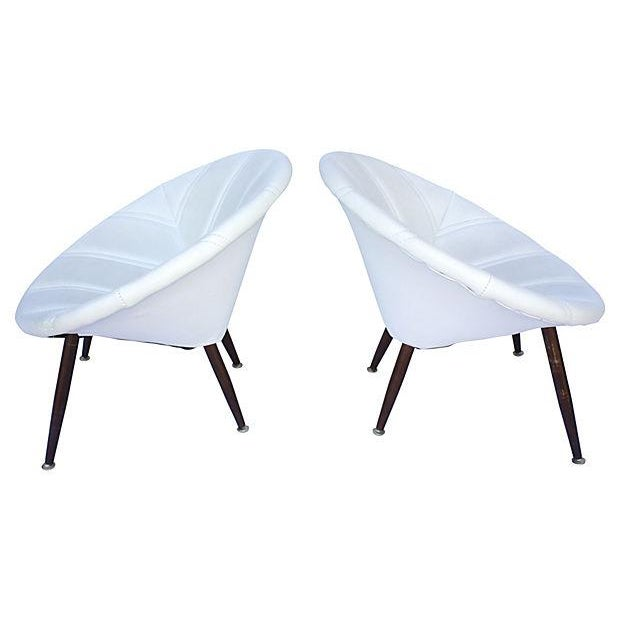 Douglas Eaton MCM Saucer Chairs - A Pair - Image 4 of 5