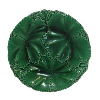 Antique 19th Century English Majolica Plate