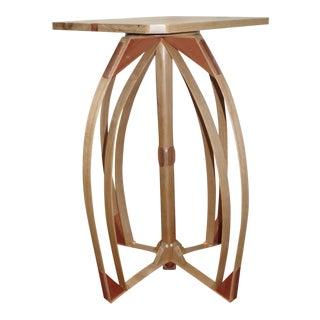 Handmade White Oak End Table
