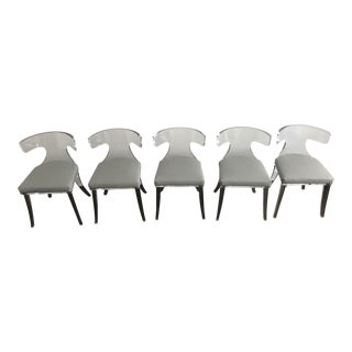 H Studio Verona Lucite Chairs - Set of 5