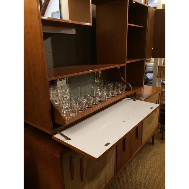 Mid-Century Modern Stereo Cabinet & Dry Bar - Image 3 of 9