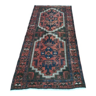 "Persian Zanjan Short Runner - 3'2""x6'6"""