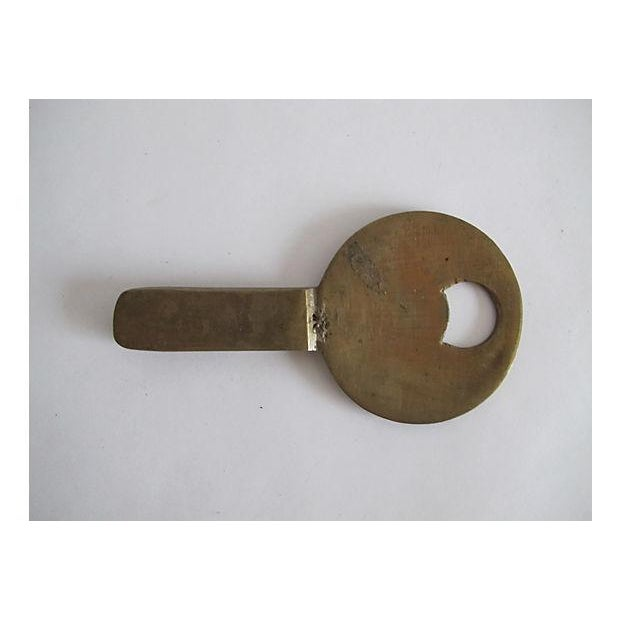 Image of Brass Swan Bottle Opener