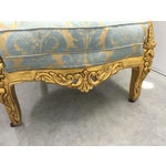 Image of Antique French Louis XV Gilt Wood Chairs - Pair