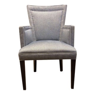 Hickory Chair Flare Back Arm Chair
