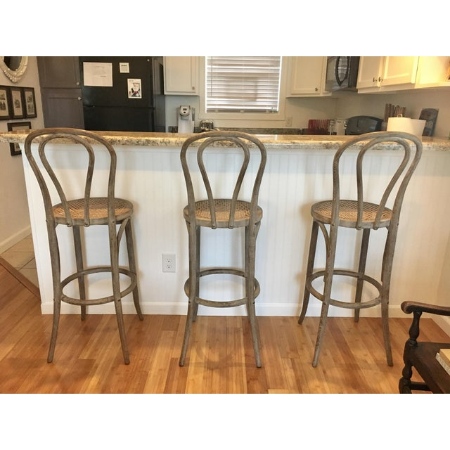 Restoration Hardware Cafe : Restoration hardware french cafe barstools set of