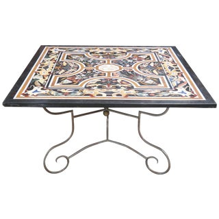 Italian Pietra Dura Top Center Table
