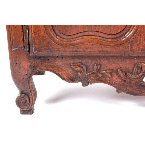 French Provençal Fruitwood Buffet With Carved and Pierced Skirt - Image 5 of 10