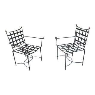 Vintage Salterini Patio Chairs - a Pair