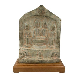 Chinese Tang Dynasty Carved Buddhist Stele