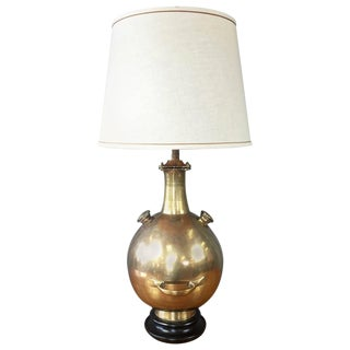 "Marbro Brass ""Diving Bell"" Table Lamp"
