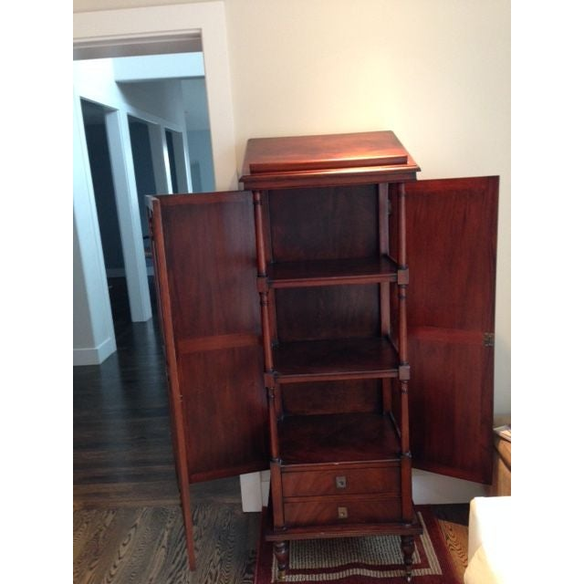 Traditional Etagere Cabinet - Image 3 of 3