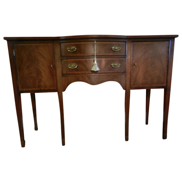 Ethan allen duncan phyfe style sideboard chairish - Ethan allen buffet table ...