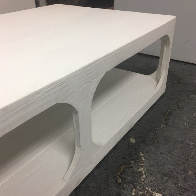 Dovetail White Shabby Chic Coffee Table - Image 8 of 9