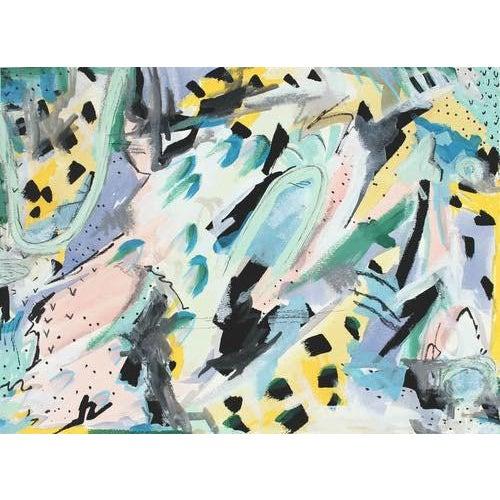 Hannah Betzel Abstract Acrylic Painting II - Image 1 of 2