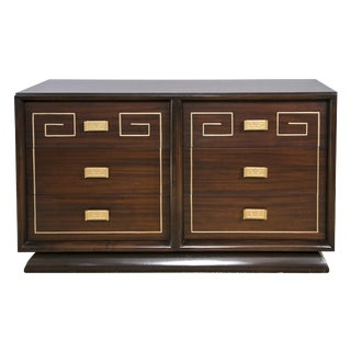 Tommi Parzinger Style Gold Detailed Sideboard