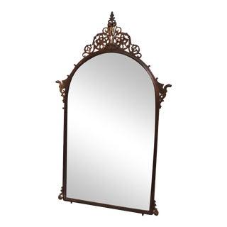 1920s Antique Oscar Bach Neo-Gothic Mirror