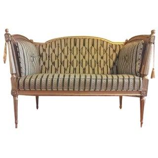 19th-Century Louis XVI-Style Settee