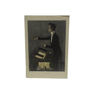"""Vintage """"Wagnerian Opera"""" Vanity Fair Print"""