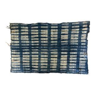 Vintage Mali Indigo Textile Throw