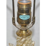 Image of C.1940s Murano Gold Fleck Table Lamp