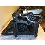 Image of Antique 1908 Black Underwood Typewriter