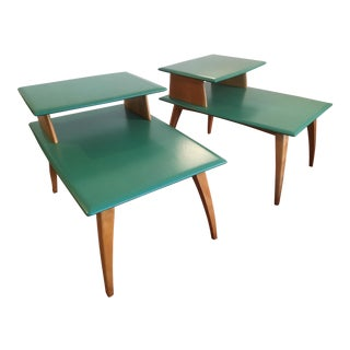Heywood-Wakefield Side Tables -- A Pair