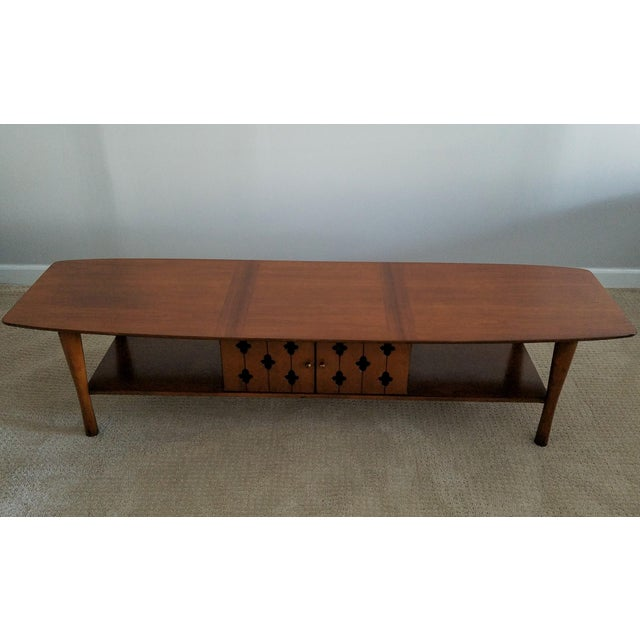 Henredon Vintage Walnut Coffee Table Chairish