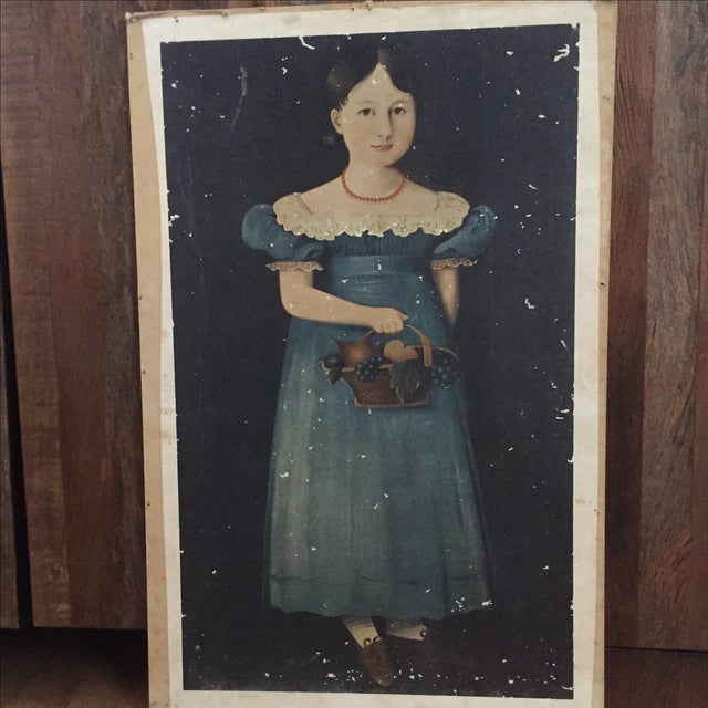 Vintage Print of 19th Century Painting - Image 4 of 4