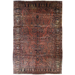 Antique Persian Sarouk Carpet