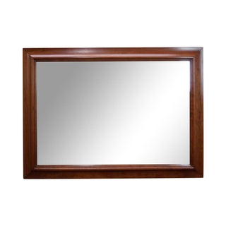 Stickley Solid Cherry Frame Rectangular Mirror