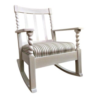 Barley Twist Antique Rocking Chair