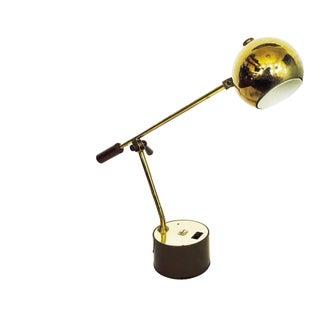 Vintage Brass Orb Task Light
