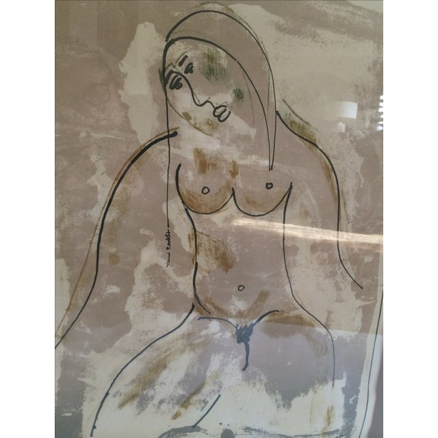 Image of Nude Lithograph by Yanni Posnakoff