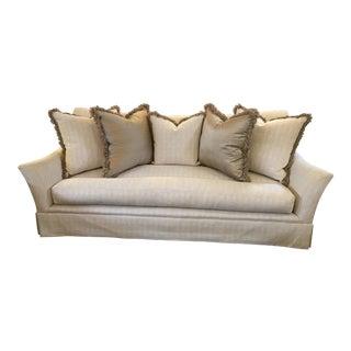 Marge Carson Sofa & Five Pillows