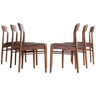 Kai Kristiansen for K.S. Mobler Teak Dining Chairs - Set of 6