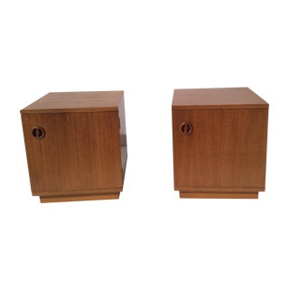 Danish Night Stands - Pair