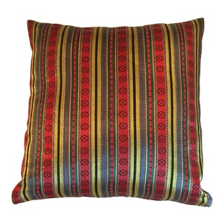 Jewel Tone Silk Pillow from Thailand