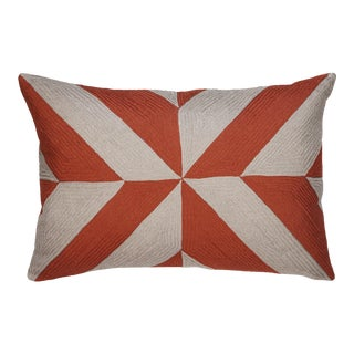 "Piper Collection Red ""Leah"" Pillow"