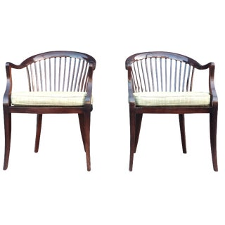 Jack Lenor Larsen Chairs - A Pair